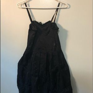 NWT- TOUCH beautiful black dress